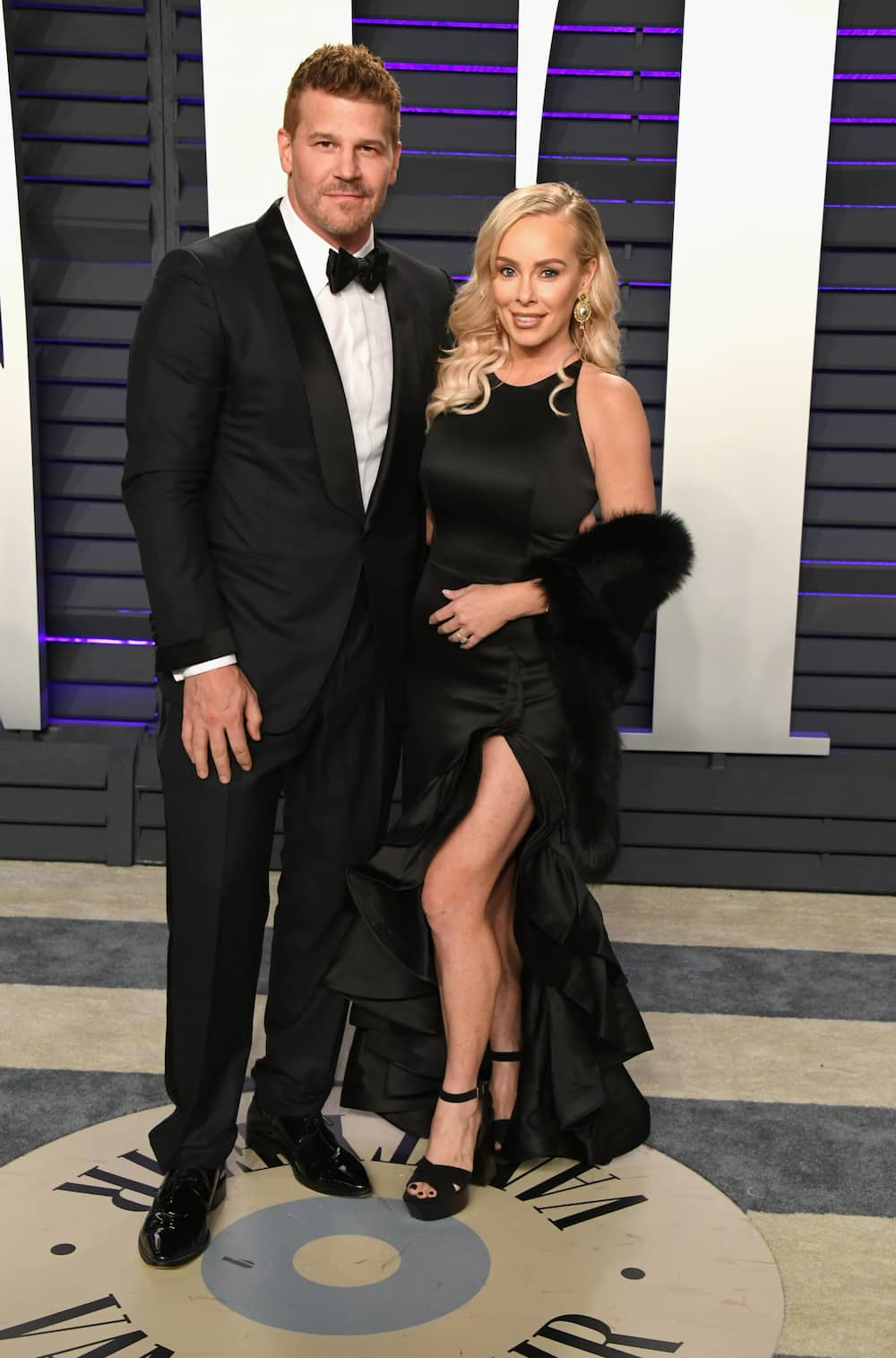 Who is David Boreanaz married to