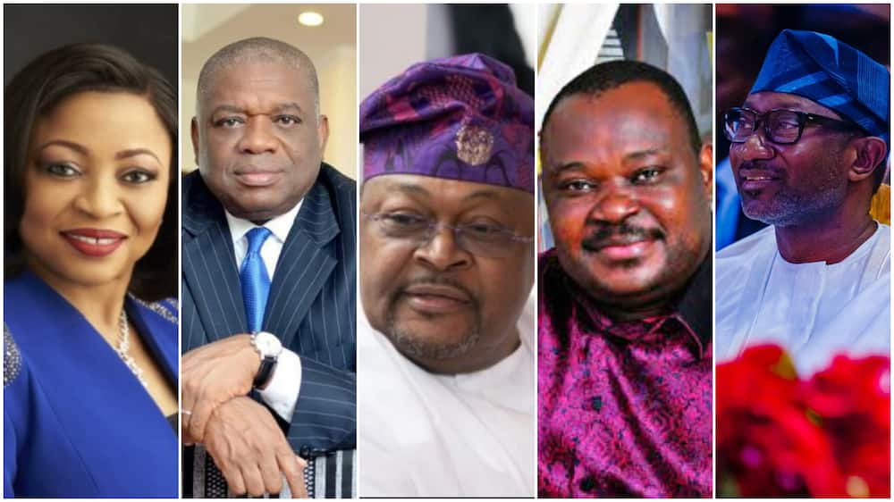 Top 5 Nigerian 'Billionaires' who make their Money from Oil, Folorunsho Alakija is only Woman on the List