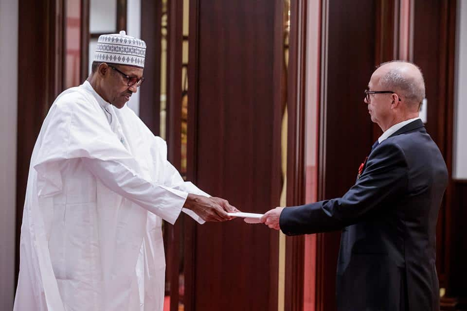 JUST IN: President Buhari receives letter of credence from Finland, France and Czech Republic