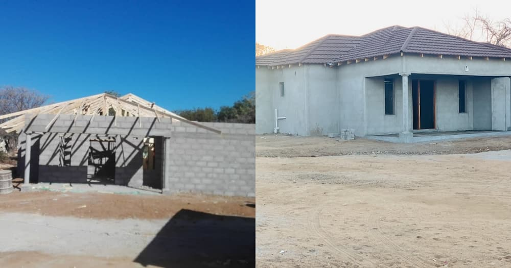Restoring dignity: Man shares pics of lovely home he built for his mom