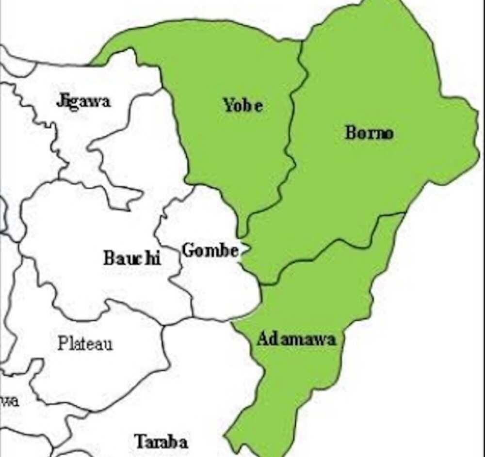 Borno, Adamawa, Yobe da sauran Jihohi 14 masu matukar hatsari a Najeriya