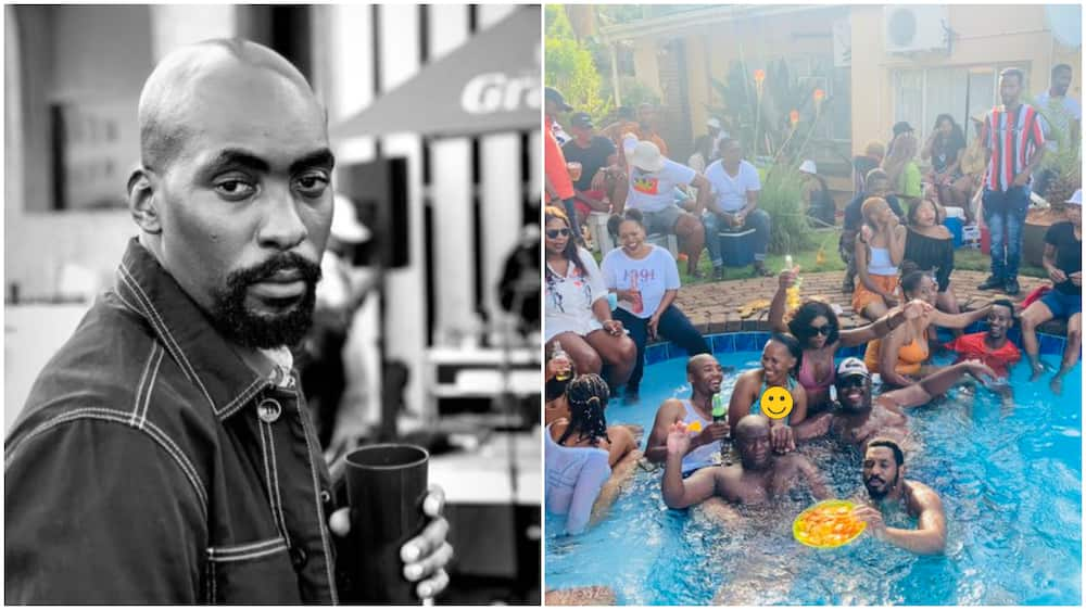 Man raises controversy on Twitter as he quotes photos of pool party