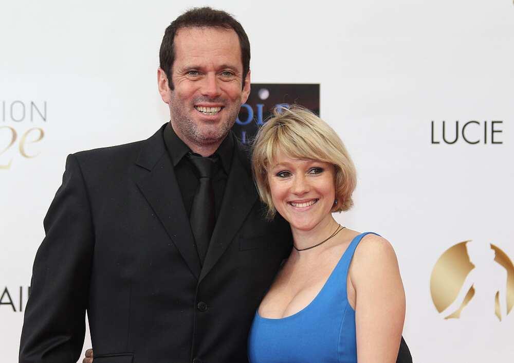 Christian Vadim et Julia Livage
