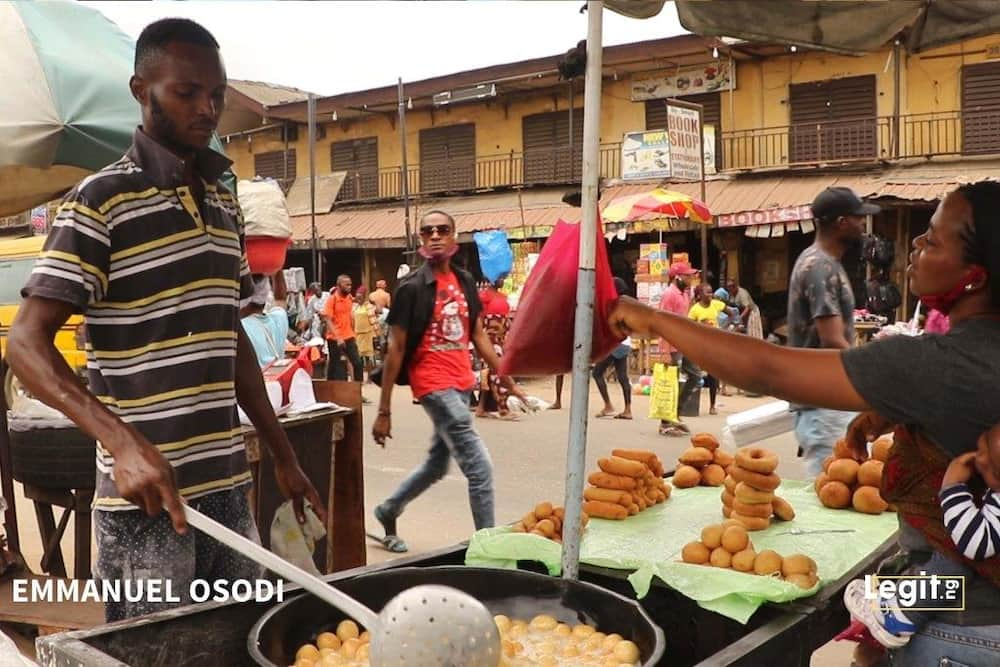 Puff-puff seller shares his life journey