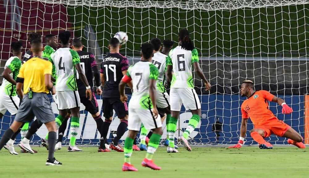 Mexico vs Nigeria: Super Eagles suffer heavy defeat to The Tricolor in the United States