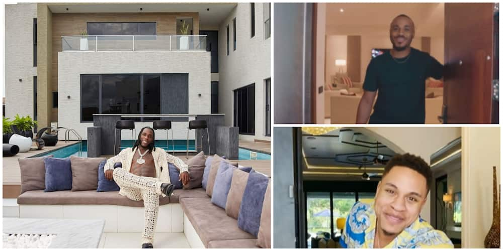 Nigerian stars who have flaunted their homes in house tours video.