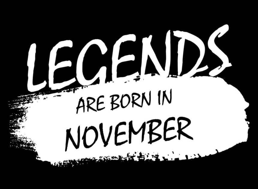 Nigerian celebrities and prominent people born in November