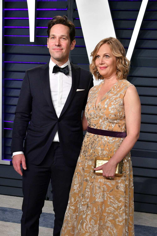 Paul Rudd and wife