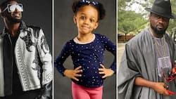 Glow as you grow - Peter Okoye says to Jude Okoye's daughter on her birthday despite feud with brothers (photos)