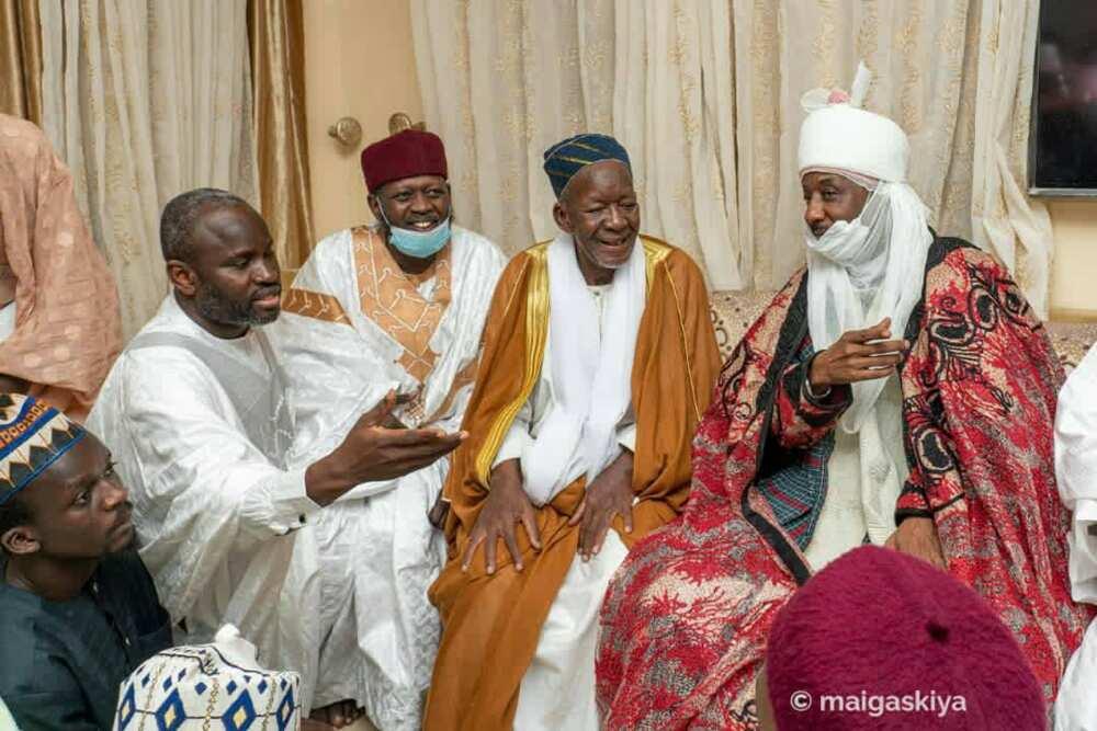 An Tabbatar da Sarki Sanusi a Matsayin Khalifa Tijaniyya, An Mishi Nadi a Senegal