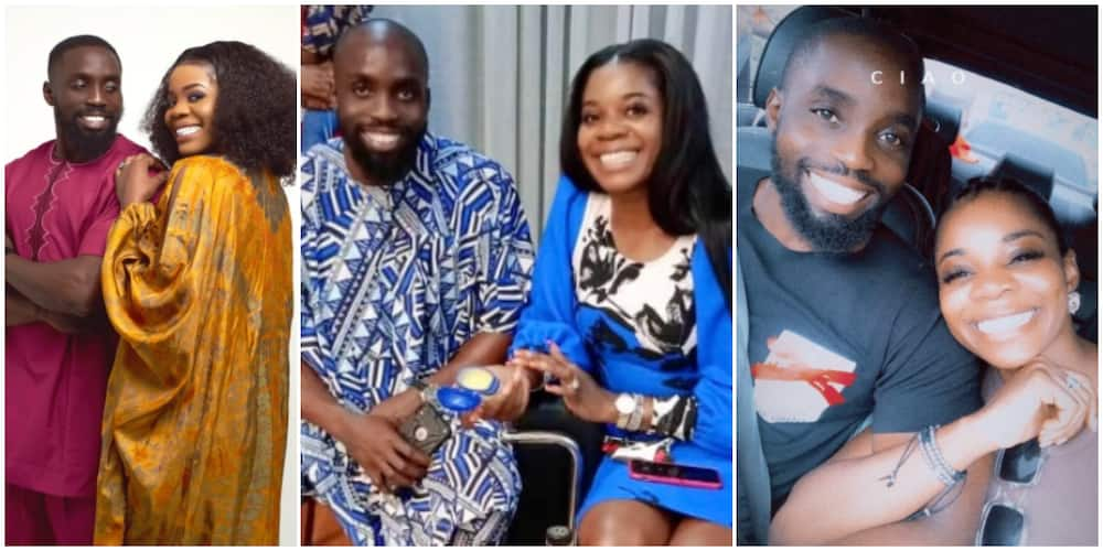 Wizkid's first baby mama Shola Ogudu goes public with her man (photos)