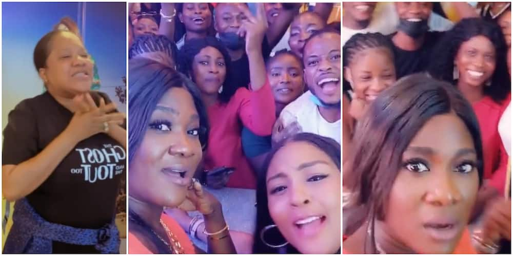 Where is Toyin Abraham? Fans query Mercy Johnson