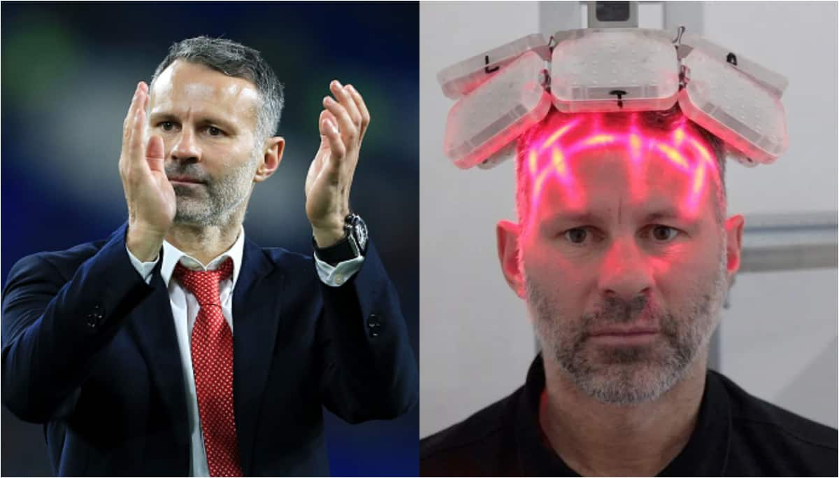 Giggs undergoes hair-transplant treatment after stress of playing for Man United