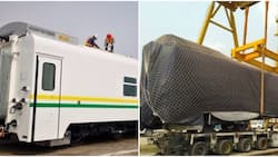 FG takes delivery of 86 new trains to boost rail transportation