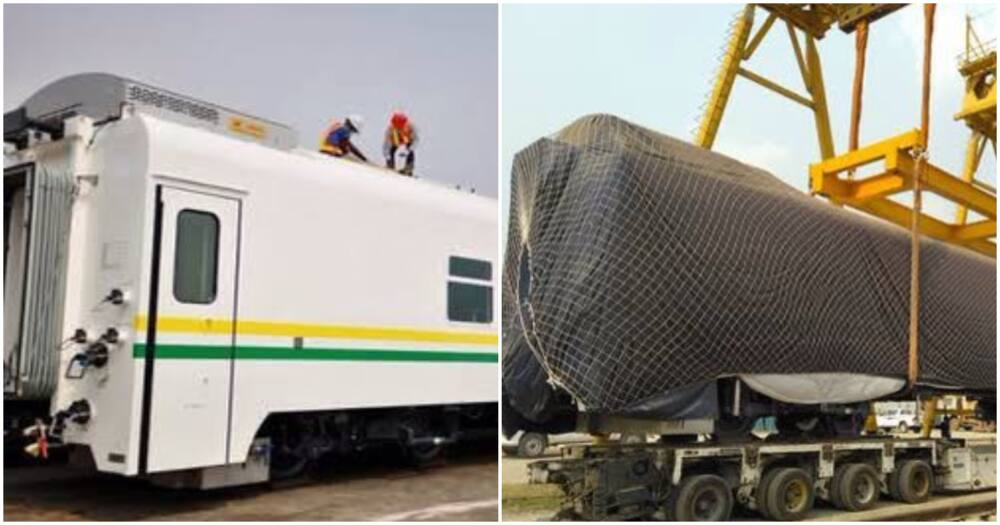 86 new FREIGHT trains have arrived Nigeria for use on the new standard gauge rail lines