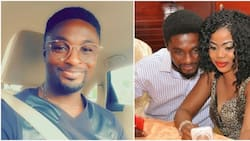 Troll attacks actor Adeniyi Johnson after posting throwback photo with his wife
