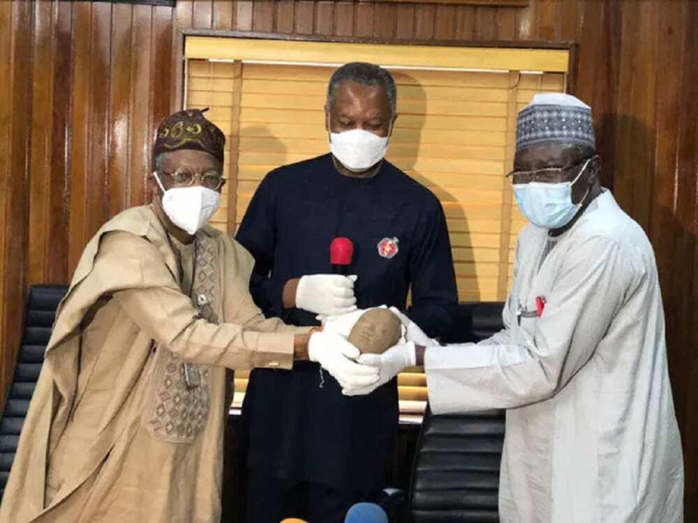 An dawowa da Nigeria gunkin Ife Terracotta mai shekaru 600 daga kasar Ingila
