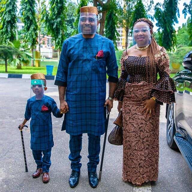 Kenneth Okonkwo wife and children