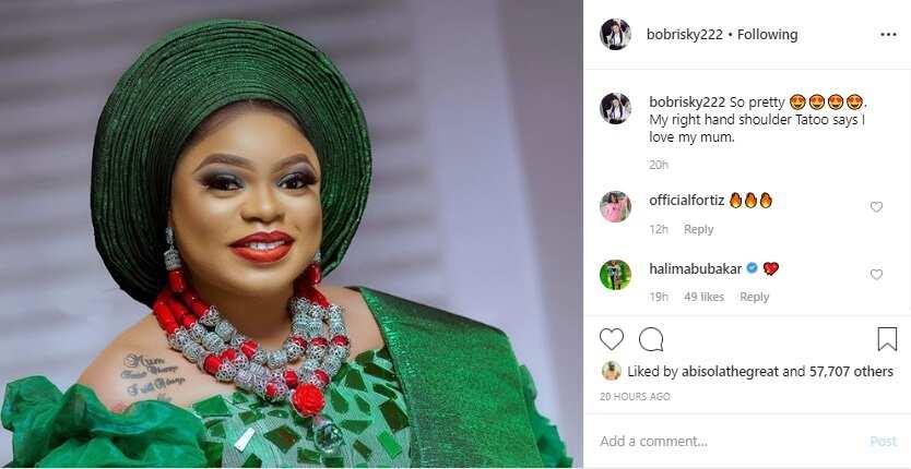 Bobrisky shines like a star to friend's wedding (photos, video)