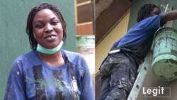 Meet 23-year-old Nigerian female painter (photos, video)