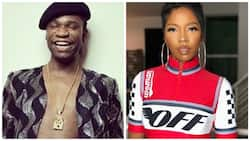 Date me before the wrinkles take over your face - Speed Darlington tells Tiwa Savage
