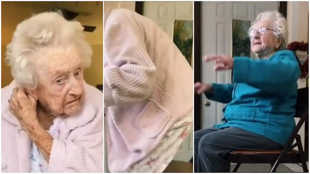 Watch what happened when old woman was about to twerk to this song