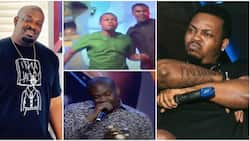 Don Jazzy finally speaks about 'fight' on stage with Olamide at 2015 Headies, says he regrets it