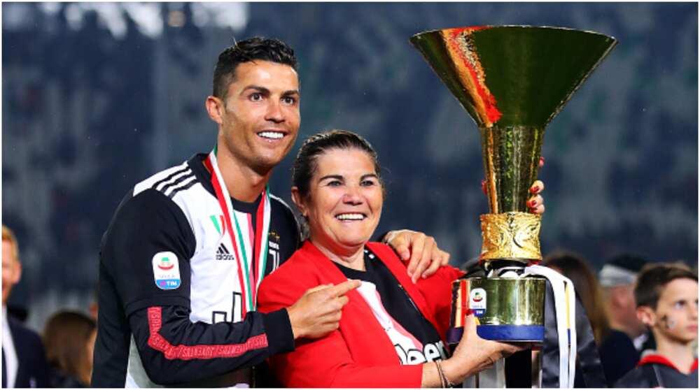 Cristiano Ronaldo: Portuguese striker congratulates mom Dolores Aviero as she clocks 66