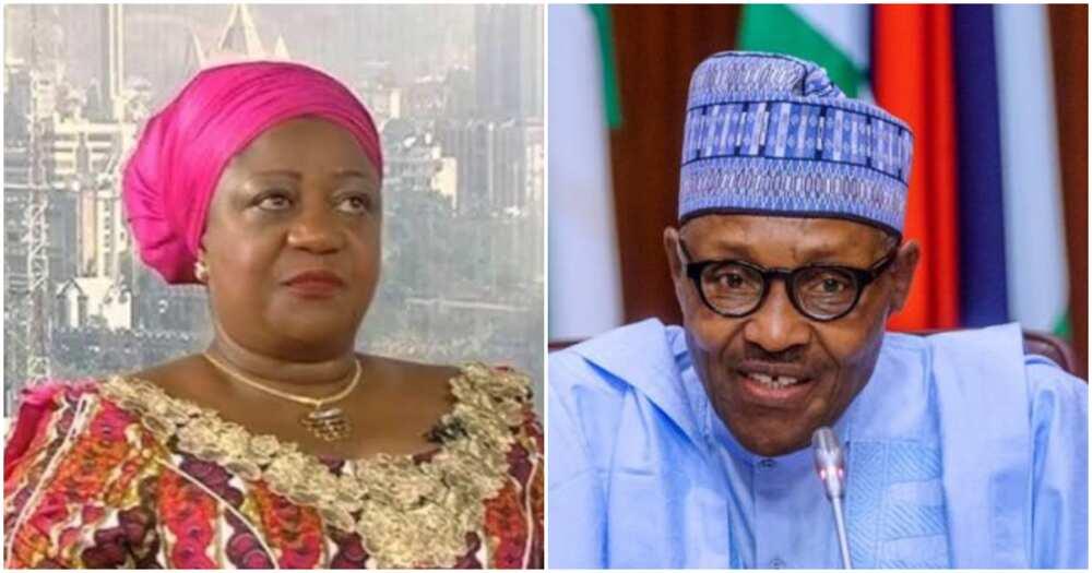 Senate should reject her, Nigerians react as Buhari nominates media aide as INEC commissioner