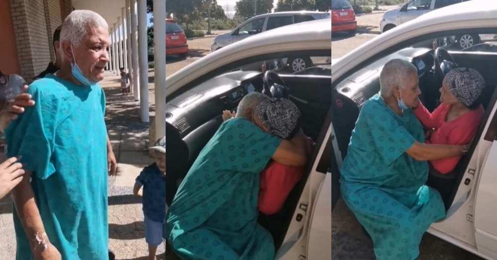 True love: Elderly couple's reunion at hospital goes viral Pls export