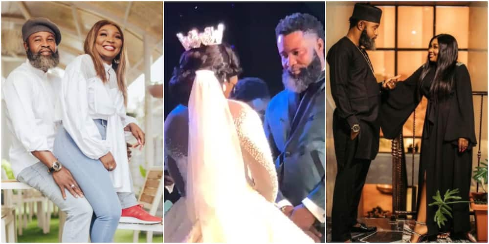 First Photos, Video From Wedding of Comedian Osama As He Marries Fiancee in Beautiful Ceremony in Jos