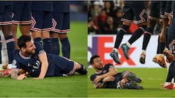 Man United legend surprised at Messi's funny gesture during PSG's Champions League clash with Man City