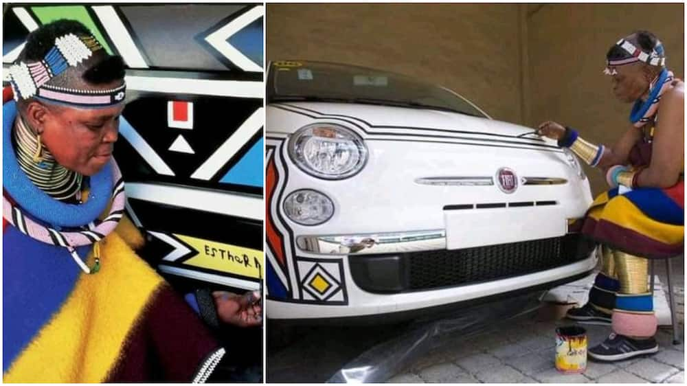 81-year-old grandma who artistically paints cars for a living wow people who her work in cute photos