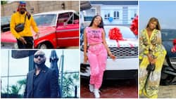 See 10 Nigerian celebs who bought expensive cars in 2020 (photos, videos)