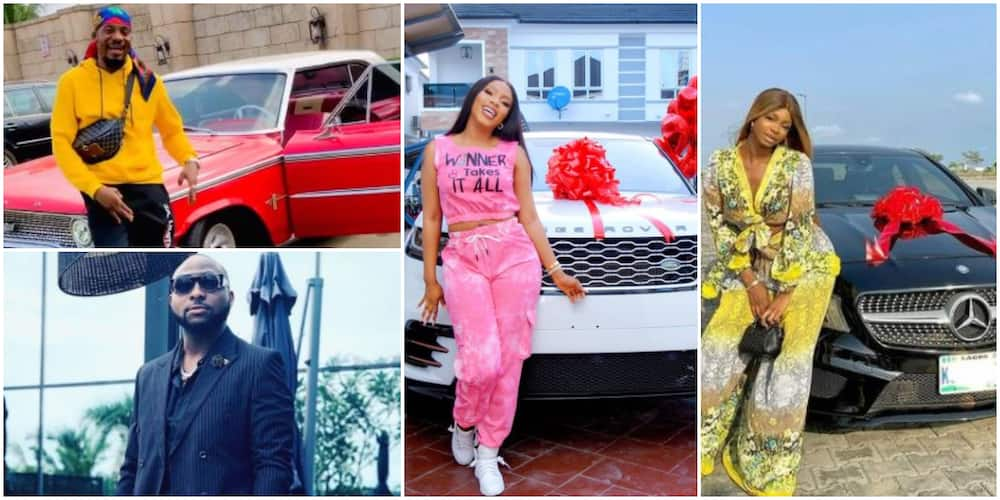 Year in review: 10 Nigerian celebs who bought cars in 2020 (Photos)