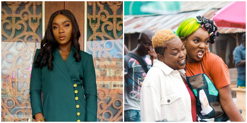 Actress Chioma Akpotha impresses fans as she raps in Igbo language in Omo Ghetto music video