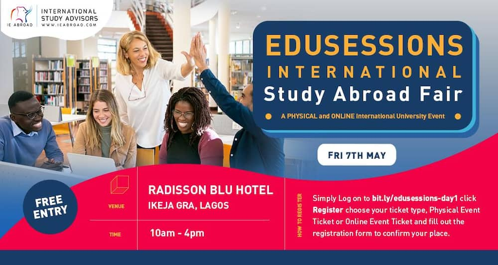IE Abroad holds Nigeria Edusession fair (Virtual & Physical) with 27 foreign universities across the globe
