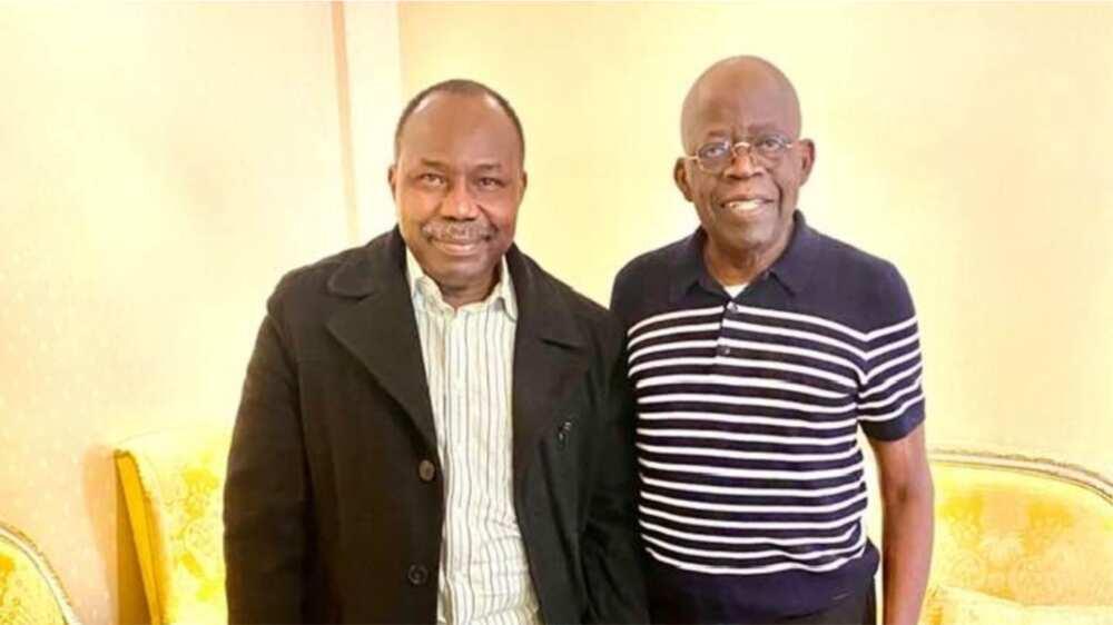 Roll Call: Muiz Banire Visits Tinubu in London