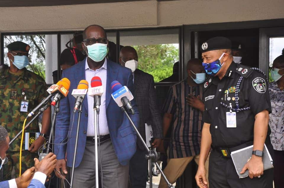 Obaseki finally defects to PDP (video)