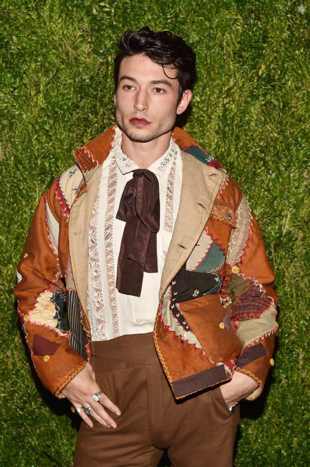 Ezra Miller fashion