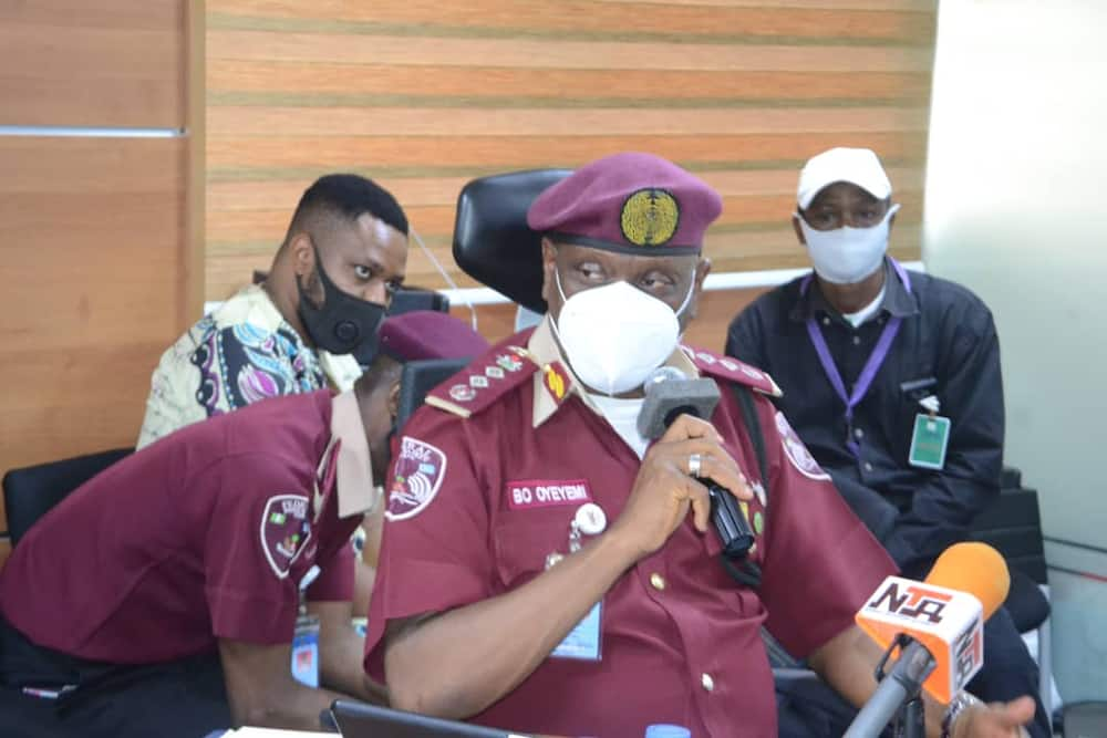 Breaking: Two FRSC officers killed, 10 kidnapped in highway bandits attack