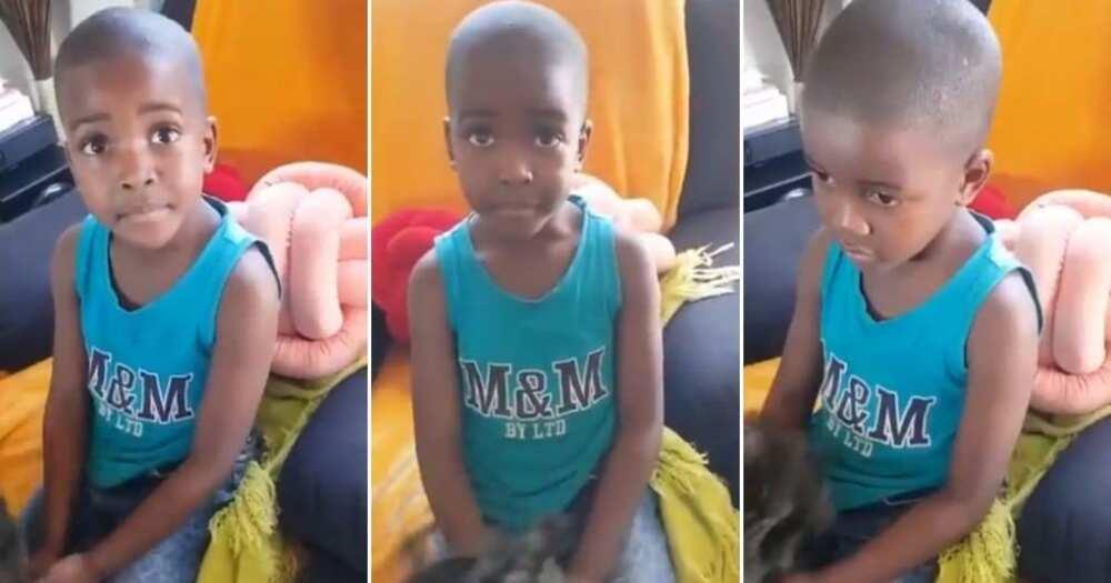 "Little boy tells mom he got dumped, SA reacts: ""His 1st heartbreak"""