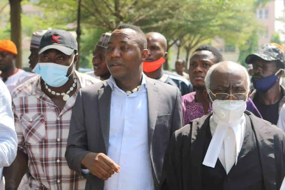 Nigerian police arrest Omoyele Sowore over crossover protest in Abuja