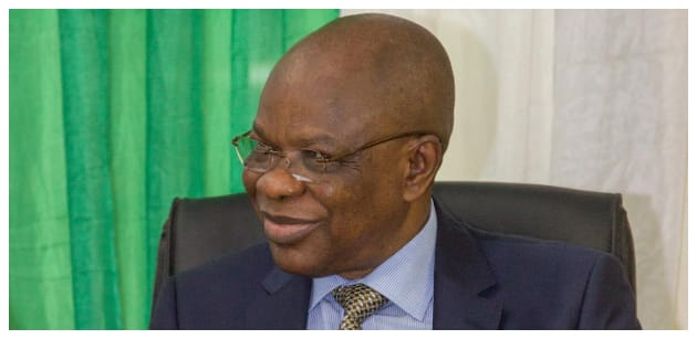 Embattled ex-INEC boss Maurice Iwu speaks about detention, thanks Nigerians for their support