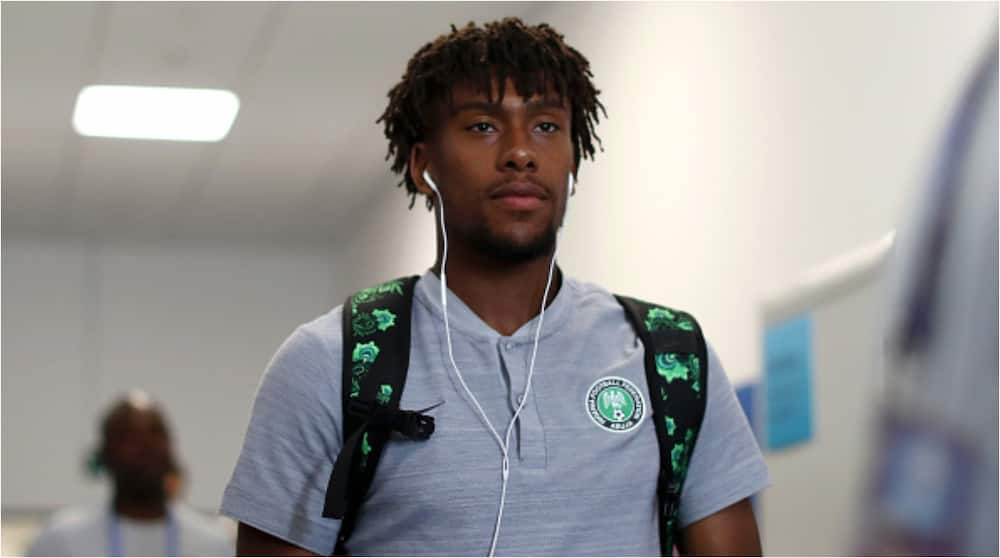 CAF Releases Statement After Test Results Show Super Eagles Star Alex Iwobi is Negative to Covid-19