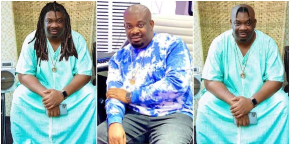Don Jazzy confused over new hairstyle to rock, begs Nigerians to choose for him