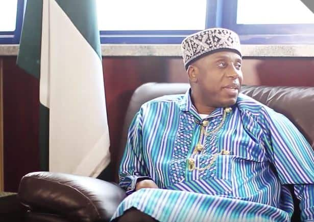 Nima ina fama da yunwa, Ministan Buhari ya fada a wurin kamfen