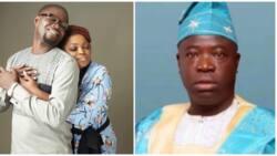 Moment Prophet Olagoroye Faleyimu's prediction goes wrong as actress Funke Akindele welcomes twin babies