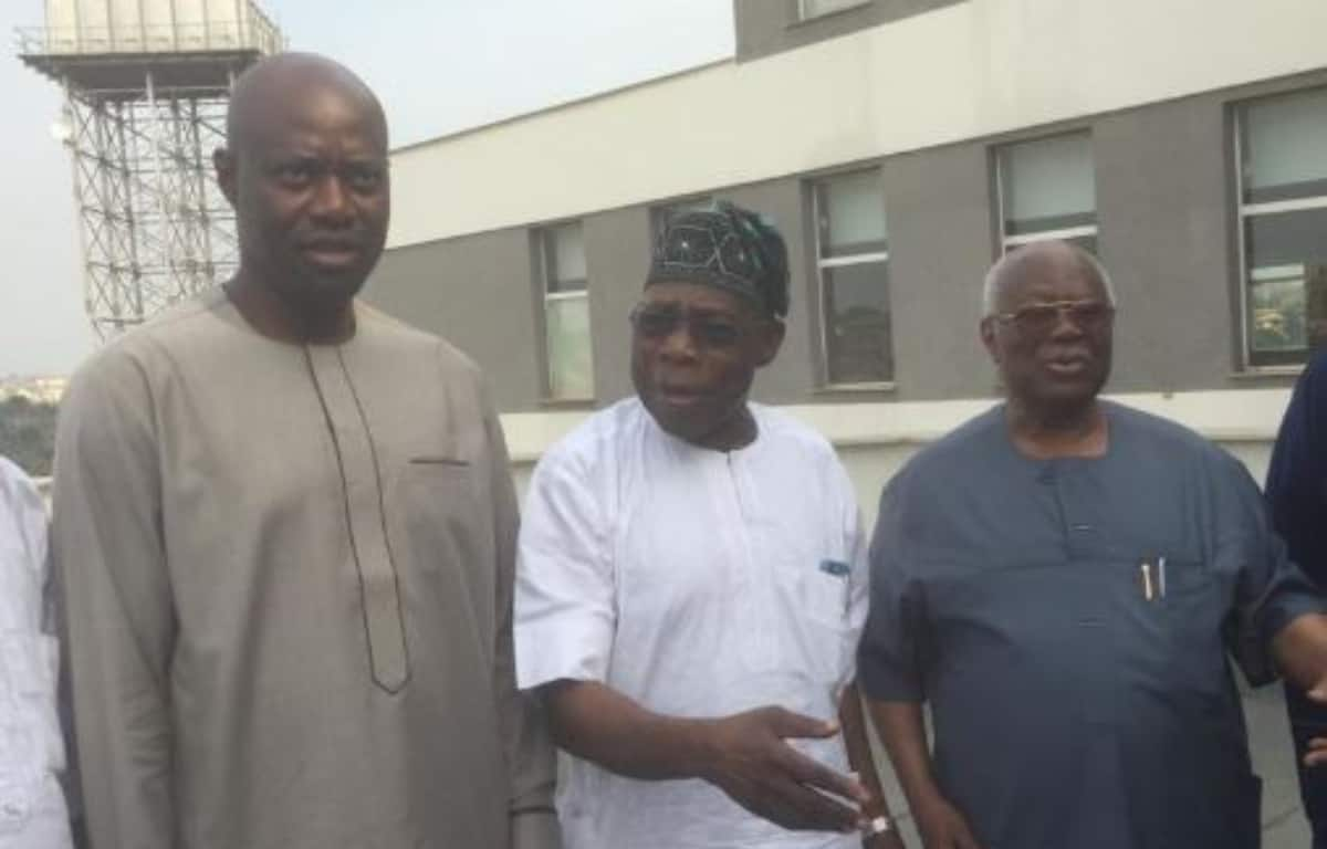 Don't put Oyo state in your pocket - Obasanjo tells governor-elect