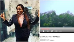 Singer Sinach celebrates as her music video becomes first gospel song to reach 100m views on Youtube